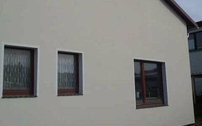 Hausfassade erneuert